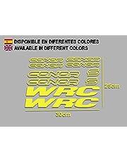 Pegatinas Connor WRC F120 Vinilo ADESIVI Decal AUFKLEBER КЛЕЙ MTB Stickers Bike