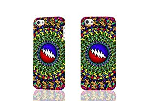 New Grateful Dead 3D Rough Case Skin, fashion design image custom , durable hard 3D case cover for iPhone 4 4S , Case New Design By Codystore