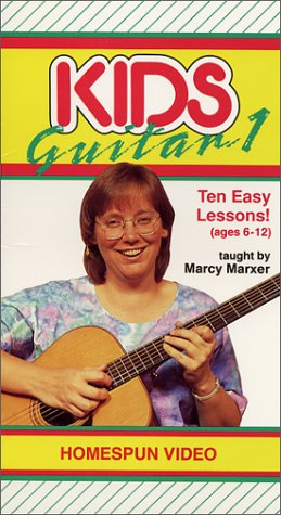 Kids Guitar 1 : Ten Easy Lessons! - Guitar Vhs 1 Vol