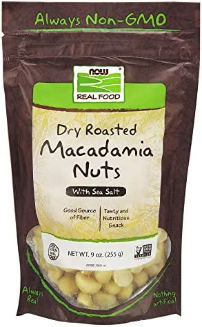 Nuts & Seeds: NOW Foods Macadamia Nuts