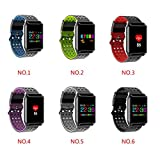 Minzhi M7 Fitness Wristband Samrt Watch Men Women Heart Rate Tracker Sleep Blood Pressure Monitor Message Call Reminder