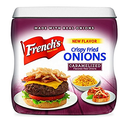 French's Carmelized Crispy Fried Onions 6 oz ( 2 Pack) by French's