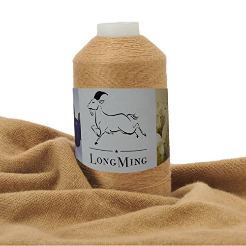 LongMing 24Nm/2 Double-ply Cashmere Blended Yarn, Soft, Warm,Crafts, Knitting, High Elasticity, Anti-pilling