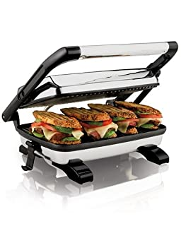 Hamilton Beach Gourmet Panini Press (B0001AG8F0) | Amazon price tracker / tracking, Amazon price history charts, Amazon price watches, Amazon price drop alerts