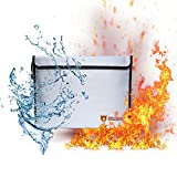 BTG Large Home & Office Security Fireproof Bag, 15''x11'' Safe Storage Envelope Pouch for Mmoney/Valuables/Jewelry and Passports, Fireproof | Water-resistant | Non-Itchy| Double layers (15x11 H)