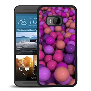 New Beautiful Custom Designed Cover Case For HTC ONE M9 With Multi Color Ball Phone Case