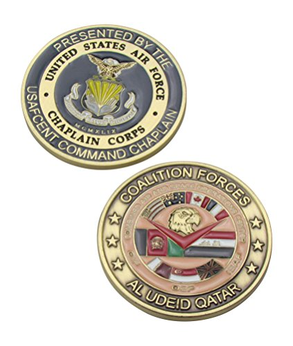 US Air Force Chaplain Corps Challenge Coin (Chaplain Challenge Coin)