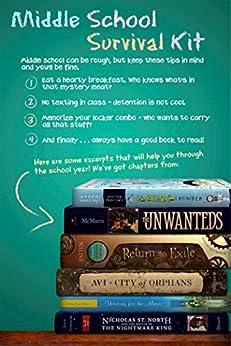 Middle School Survival Kit: Free eSampler by [McMann, Lisa, Patten, E. J., Nesbo, Jo, Avi, MacLachlan, Patricia, Joyce, William]