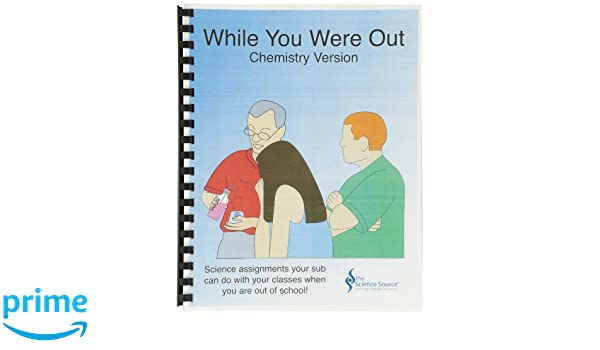 Science Source 27 Pages While You Were Out Chemistry Resource ...