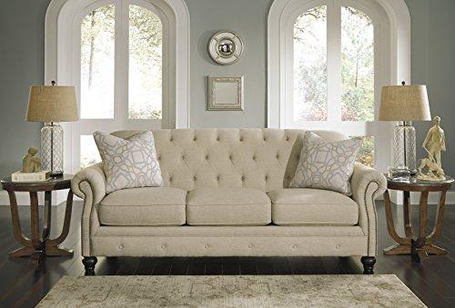 Kieran Traditional Fiber Natural Color Sofa