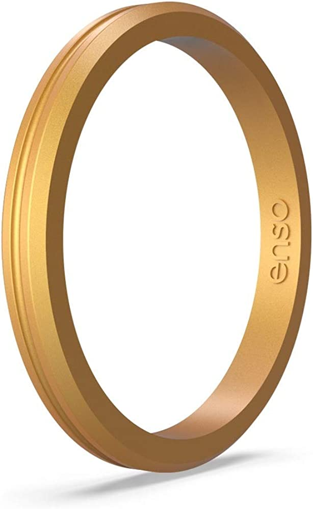 Handmade in The USA Enso Rings Halo Contour Silicone Ring Lifetime Quality Promise The Premium Fashion Forward Silicone Ring
