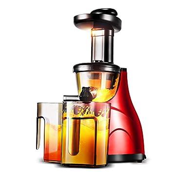 Exprimidor de la máquina, exprimidor de frutas enteras y vegetales con motor silencioso de doble
