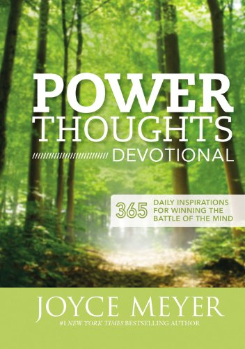 Power Thoughts Devotional: 365 Daily Inspirations for Winning the Battle of the Mind (Joyce Meyer Best Sellers)