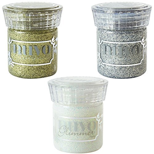Nuvo Glimmer Paste - Golden Crystal, Silver Gem & Moonstone by Nuvo