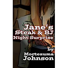 Jane's Steak and BJ Night Surprise: A Futanari Tale