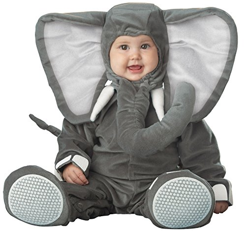 [UHC Baby's Lil Elephant Character Infant Child Halloween Costume, 6-12M] (Baby Girl Marvel Costumes)