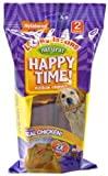 Nylabone Happy Time Dog Chews, Medium Size, 2-Pack, My Pet Supplies