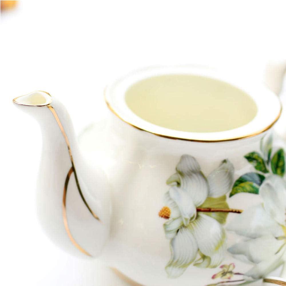 NiNnn Juegos De Café Completos Bone China Cafetera Inglesa De Gran ...