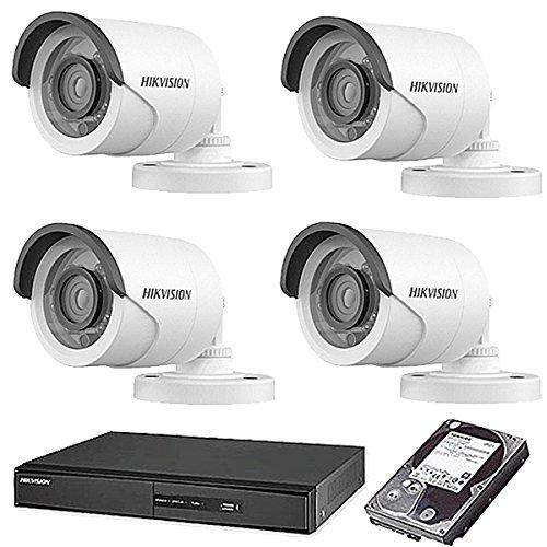 【即出荷】 HIKVISION(ハイクビジョン) 防犯カメラセット 5年保証 監視カメラ スマホ対応 × 4台(243万画素フルハイイビジョン)+2TB HDD 屋外内用 屋外内用 小型 屋外用4台 スマホ対応 録画機能付き 4CH 防犯カメラ セット 9点セット 日本語マニュアル付き 屋外用4台 TVI-SET6-C4-2TB B074Z6HQRC, 有田焼やきもの市場:040ac6ed --- trainersnit-com.access.secure-ssl-servers.info