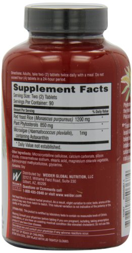 Weider Plus mg Tablets - 180