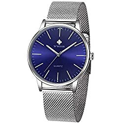 Image of the product Mens Simple Slim Watch that is listed on the catalogue brand of WWOOR.
