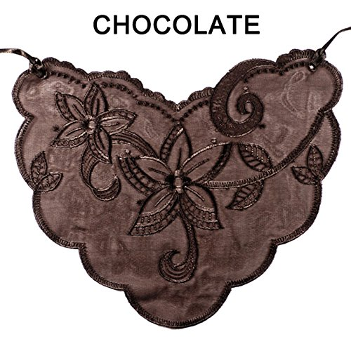 BRAZA S5001 CAMI LACE CHOCOLATE -