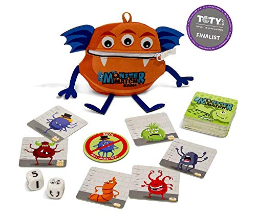 North Star Games Monster Match Dice and Card Game for Family & Kids, 2-6 Players, Ages 6+   (Monster Games For Kids)