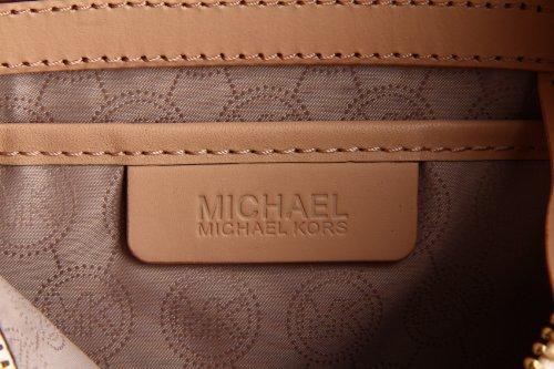 MICHAEL Michael Kors Logo Grayson Large Satchel