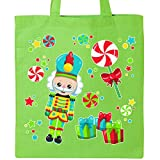 Inktastic - Holiday Nutcracker and Candy for Christmas Tote Bag Lime Green 2dcc5