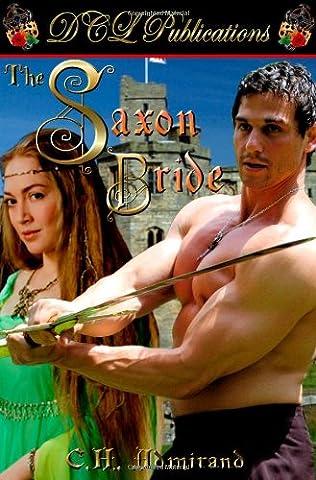 book cover of The Saxon Bride