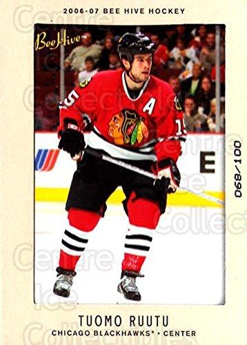 (CI) Tuomo Ruutu Hockey Card 2006-07 Beehive Matte (base) 80 Tuomo ()