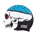Zoggs Junior Character Skull Silicone Cap