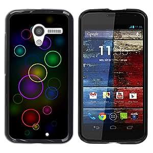 Be Good Phone Accessory // Dura Cáscara cubierta Protectora Caso Carcasa Funda de Protección para Motorola Moto X 1 1st GEN I XT1058 XT1053 XT1052 XT1056 XT1060 XT1055 // Colorful C