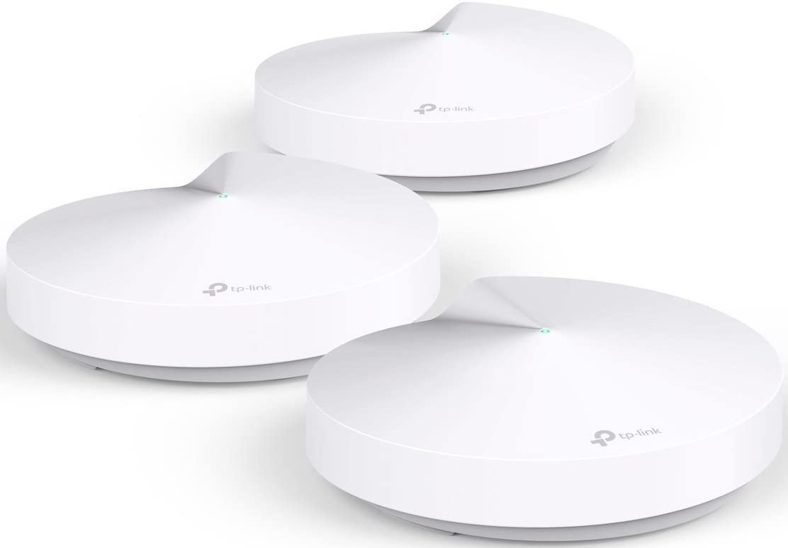 TP-Link Deco Whole Home Mesh WiFi System – Homecare Support, Seamless Roaming, Dynamic Backhaul, Adaptive Routing, Works with Amazon Alexa, Up to 5,500 sq. ft. Coverage (M5) (Renewed)