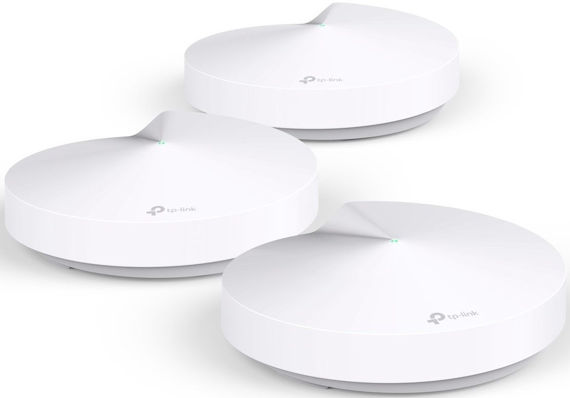 TP-Link Deco Whole Home Mesh WiFi System - Homecare Support, Seamless Roaming, Dynamic Backhaul, Adaptive Routing, Works with Amazon Alexa, Up to 5,500 sq. ft. Coverage (M5) (Renewed) by TP-LINK
