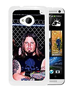 Beautiful Designed Cover Case With Bleed The Sky Tattoo Rockers Print Fence (2) For HTC ONE M7 Phone Case