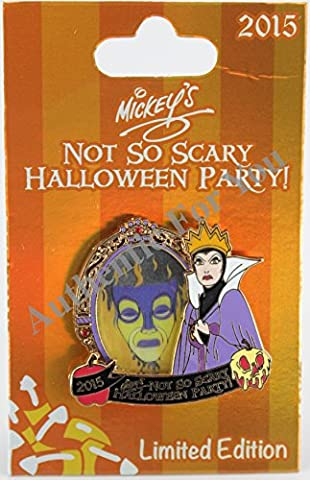 Disney Parks 2015 MNSSHP Halloween Party Evil Queen Magic Mirror Trading Pin Limited Edition LE (Disney Pin Queen)
