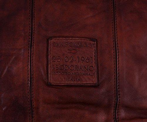 cuir Campomaggi fourre main Sac tout Shopper à Moro cm 30 ZqZgfY