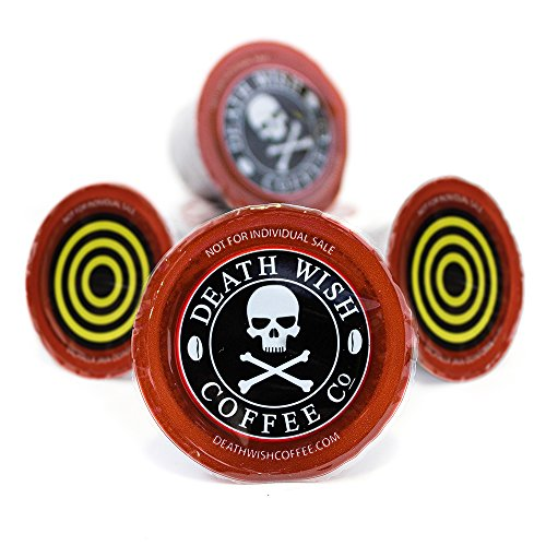 20 Count Death Wish Coffee and Valhalla Java Single Serve Bundle for Keurig K-Cup Brewers, Fair Trade and USDA Certified Organic - 10 Capsules of Each