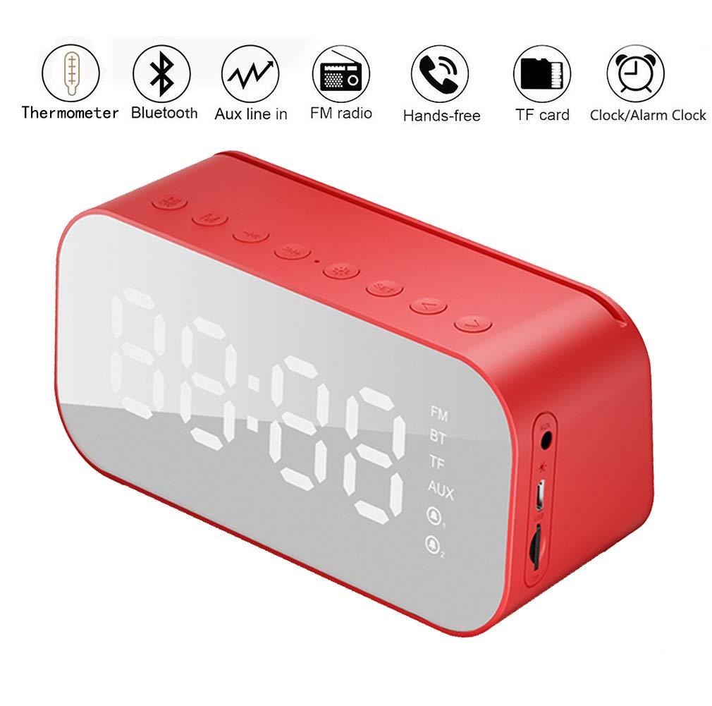 DONYKARRY Reloj Despertador con Termómetro Multifunción con ...