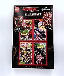 Lego Ninjago Movie Classroom Valentines Day Cards 32 Stickers Lloyd Teacher Card