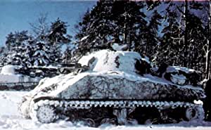 Amazon Com Vintage Us Army Sherman Tank Battle In The