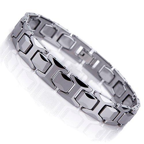 """Silver Nice byzantin plat Chaîne homme collier en acier inoxydable 8 mm .24 /""""silver"""