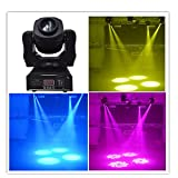 Wonsung 60W LED gobo Moving Head Lighting spot lighting dj set gobo christmas lights dj light projector for bar party event