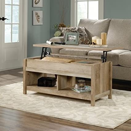 Amazoncom Solid Lift Up Top Coffee Table Modern Design Living - Solid wood lift up coffee table