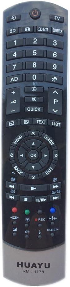 Huayu rm-l1178 mando a distancia para TOSHIBA TV: Amazon.es: Electrónica