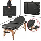 """Professional 4"""" Pad Portable Reiki Portable Massage Table w/ 77"""" Solid Frame BsetMassage"""