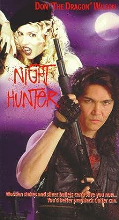 Night Hunter [USA] [VHS]: Amazon.es: Don The Dragon Wilson ...