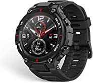 Novo relógio inteligente 2020 ces amazfit t rex t-rex controle de música 5atm gps/glonass 20 dias de vida da b