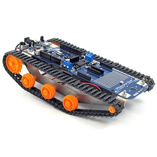 DFRobotShop Rover V2 - Arduino Compatible Tracked Robot (Basic Kit) (Basic Robot Kits compare prices)